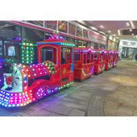 Buy cheap Amusement Electric Trackless Train 24 Seat 380V  Fiberglass Material from wholesalers