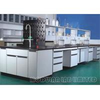 Buy cheap Black Phenolic Resin School Laboratory Furniture High Grade PP Structure Pegboard from wholesalers