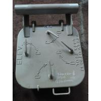 Buy cheap Marine Steel Small Weathertight Marine Hatch Cover With 4 Dog Clips from wholesalers