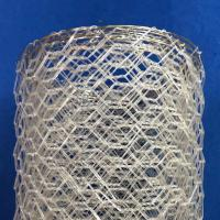 Buy cheap Polyster Hexagonal Chicken Wire Netting for River / Gabion Wire Mesh product