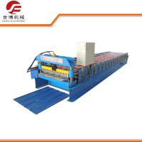 Buy cheap Corrugated Sheet Roll Forming Machine , 350 H Steel Glazed Tile Roll Forming Machine from wholesalers