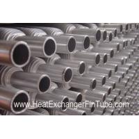 Aluminum Muff  Tubes (1100 / 1060 / 6063 ) , Extruded MONO METAL Air Condition Fin Pipe