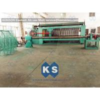 Large Heavy Type Gabion Machine , Hexagonal Wire Mesh Weaving Machine