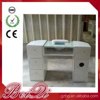 Quality Beauty Nail Salon Equipment Wholesale Nail Manicure Table with Vacuum Cheap Manicure Station for sale