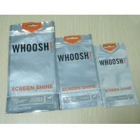 Buy cheap Reusable Three Sides Sealed Foil Pouch Packaging Plastic Malar Bag with Zip Lock from wholesalers