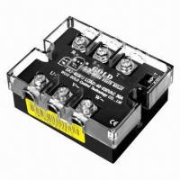 Buy cheap AC Three-phase solid-state/power relay, 47 to 63Hz frequency range product
