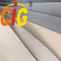 Buy cheap Custom Light Gray Automotive Headliner Fabric With 3-4mm Foam For Car Ceiling from wholesalers