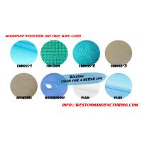 Buy cheap Nonwoven wiper fabric of spunlaced non wovens wipes spun lace Car Cleaning Products from wholesalers