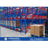 Buy cheap Automated Storage / Retrieval Cold Storage Racking System For Ice House Storage from wholesalers
