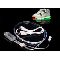 Buy cheap 450MA LED Light Strips For Shoes , Usb Powered Rgb Led Strip Rechargeable from wholesalers