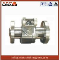 Buy cheap Manul Flange Ansi 600# Duplex Stainless Steel F55 Soft Seal Ball Valve from wholesalers