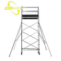 Buy cheap 3.3m Aluminum Scaffolding tower(SF-916) from wholesalers