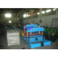 Buy cheap Steel Glazed Tile Roll Forming Machine 13Kw 1.2 Inch Single Chain Drive product