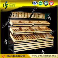 Buy cheap Top Selling Wood Wall Shelves Unit Vegetable And Fruit Display Wall Shelf from wholesalers