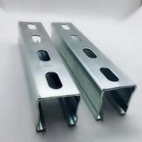 Buy cheap Hot Dipped Galvanized Steel Unistrut Channel Mounting Brackets / Supporting System from wholesalers