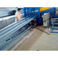 Buy cheap Deck Floor Panel Forming Equipment / Trapezoidal Steel Floor Decking Machine from wholesalers