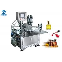 Buy cheap Rotary Type Nail Polish Filling Machine PLC Control With 30 Bottles Per Minute from wholesalers