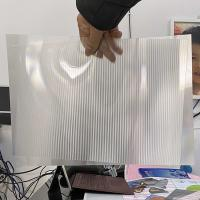 Buy cheap 2021Hot sale 3D lenticular sheet clear PET Lenticular 75 lpi lens sheet 3D flip lenticular lens sheet from wholesalers