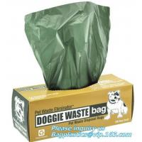 Buy cheap Biodegradable dog poop bags amazon, biodegradable cat waste bags, compostable dog poop bags, Doggy Poo Bags Compostable from wholesalers