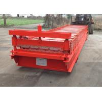 Buy cheap Wall Roofing Sheet Roll Forming Machine IBR Galvanized Steel 18 Stations from wholesalers