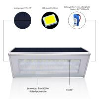 Buy cheap Newest 800lm Solar Lamp 46 leds Separable Outdoor Waterproof Garden Wall Yard Solar Light With Remote control Light from wholesalers