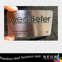 Buy cheap Professional Unique Custom Metal Business Cards / Metal Playing Card from wholesalers