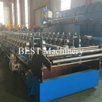 Buy cheap Plank C U Channel Cable Tray Roll Forming Machine Hydraulic Cutter / Punch from wholesalers