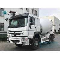 Buy cheap ZZ1257N3841W EURO 4 380HP 6X4 3830mm Concrete Mixer Truck from wholesalers