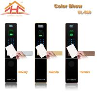 Buy cheap Home Automation RFID Card Door Lock With Optical or Capacitive Fingerprint Sensor from wholesalers