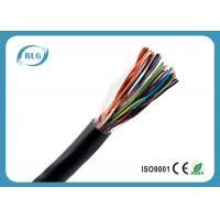 Buy cheap Underground Digital Telephone Cable / Black Multi Line Phone Cord OEM Supply from wholesalers