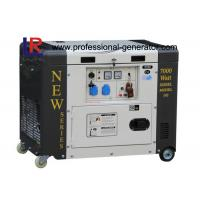 Buy cheap Single Phase 50HZ 6.5kVA Portable Diesel Power Generator With Electric Start product