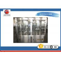 Buy cheap Carbonated Soda Filling Machine Filling Line 5.6KW , High Accuracy Beverage Bottling Equipment from wholesalers