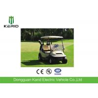 Buy cheap 2 Seat Electric Golf Carts 48 Voltage Trojan Battery Aluminum Chassis DC Motor from wholesalers