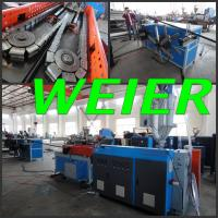 Buy cheap PE Corrugated Pipe Single Screw Extruder Machine High Efficiency 220 - 450V from wholesalers