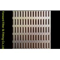 Buy cheap Long Hole Stainless Steel Perforated Sheet Metal Panel For Internal Combustion Engine Filter from wholesalers