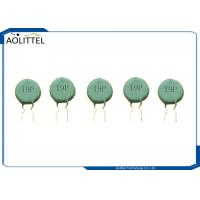 Buy cheap MZ21 Seires Disk Positive Temperature Coefficient Thermistor 19P 18mm 100R 120C from wholesalers