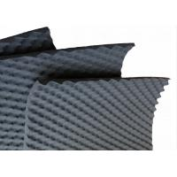 Buy cheap 50mm Wavy Acoustic Foam Panels Black High Density Closed Cell Foam For Theatre from wholesalers