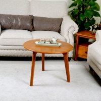 Buy cheap Retro Round Solid Wood Coffee Tables from wholesalers