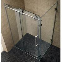 Buy cheap Customize Sliding Clear Tempered Glass Shower Room / Shower Enclosure product