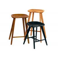 Buy cheap Solid Wood Restaurant Bar Chairs Stools , Economic Contemporary Bar Stools from wholesalers