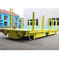 Buy cheap 10t plastic coils handling railway mounted rail transfer cart with coloums production line from wholesalers