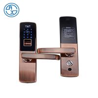 Buy cheap Intelligent Security Biometric Digital Fingerprint Lock for Home Zinc Alloy Smart Lock Password Anti-thief Door Lock from wholesalers