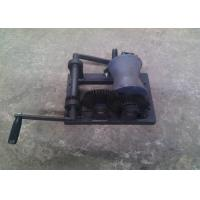 Buy cheap Portable Manual Hand Wire Rope Winch /  Mini Hand Winch For Power Construction product