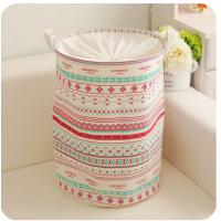 Buy cheap foldable laundry hamper basket with mesh lid product