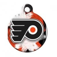 Buy cheap Metal Pet Tags With Sport Team Logos , Custom Metal Dog Tags Round Shaped from wholesalers
