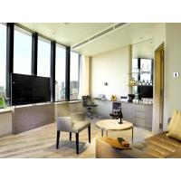 Buy cheap Fashion Apartment Hotel Room Furniture Wooden Headboard with Storage Bed and from wholesalers