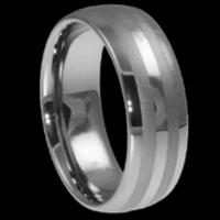 Buy cheap Tungsten wedding rings for men 4-12mm from wholesalers