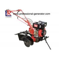 Buy cheap 3600r / Min 10HP Diesel Power Mini Garden Tiller With Heavy Duty Industial Engine from wholesalers