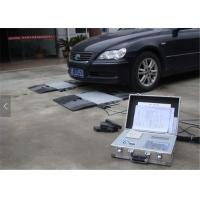 Buy cheap Small Moveable Dynamic Axle Weighbridge , Vehicle Weighing Pads 10kg Division from wholesalers