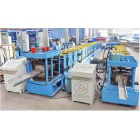 Buy cheap Cutting Blade Material Cr12 CZ Purlin Interchangeable Roll Forming Machine Chain Drive from wholesalers